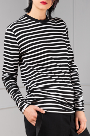striped long sleeve for women