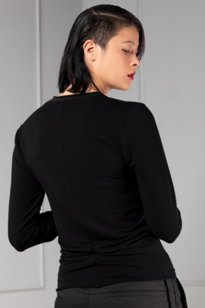 black bamboo Long sleeve for women