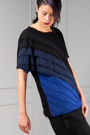 black cotton top for women