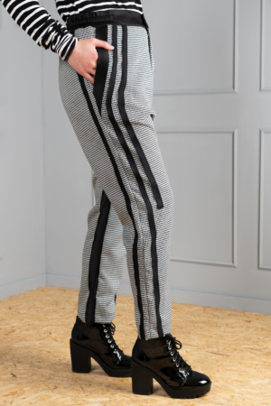 houndstooth women's trousers
