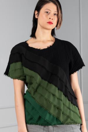 black cotton women's top