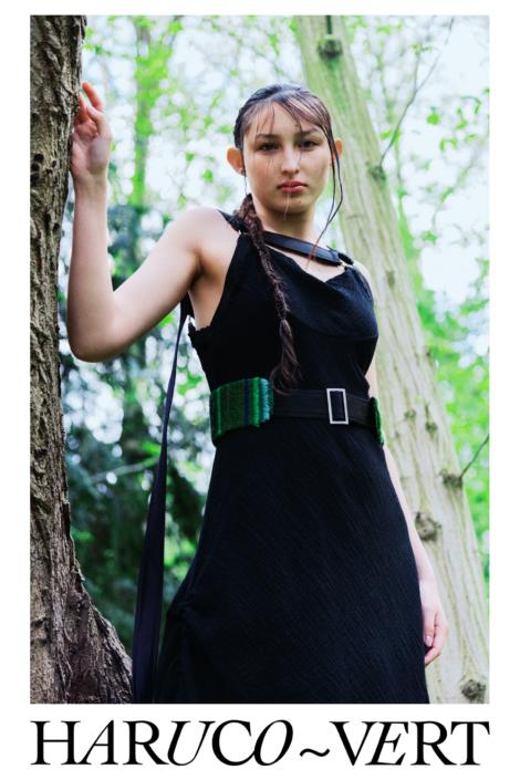 Designer Fashion harness dress