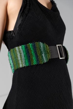 chiffon belt accessory