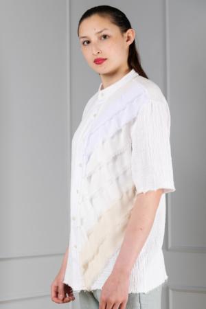off-white cotton women's shirt