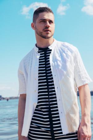 off-white cotton unisex shirt