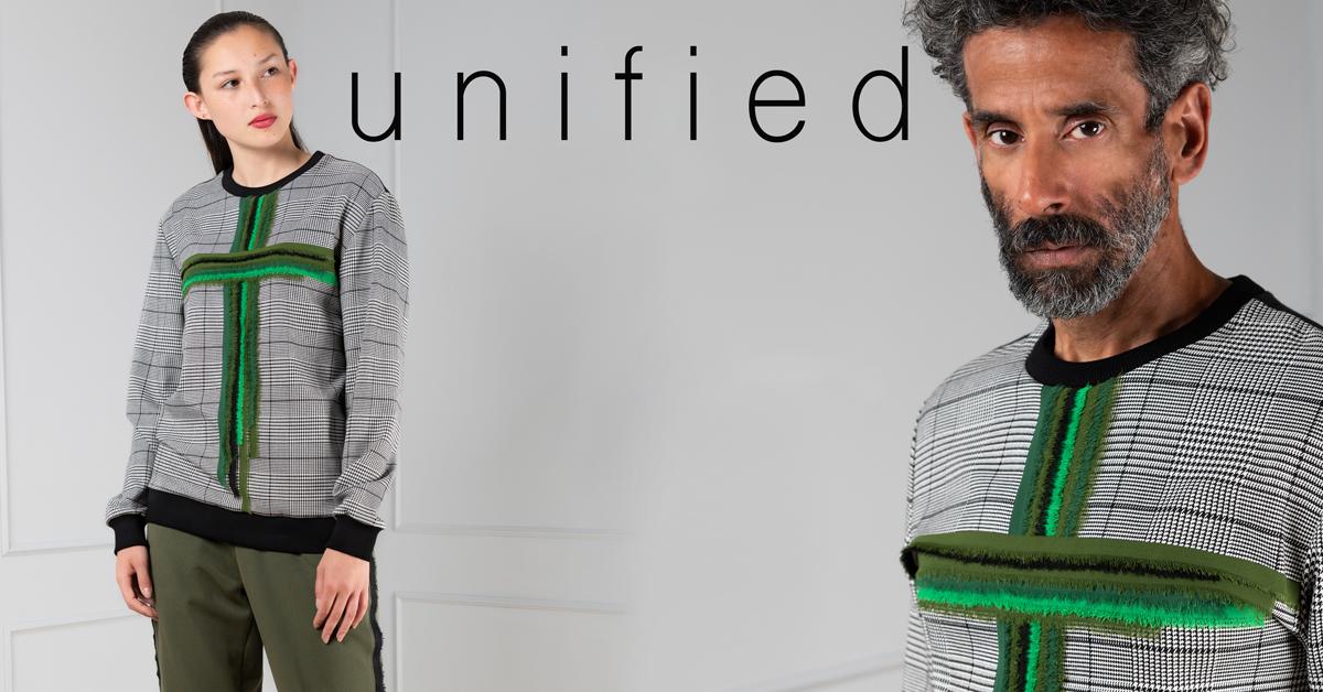 Designer Fashion unisex sweater