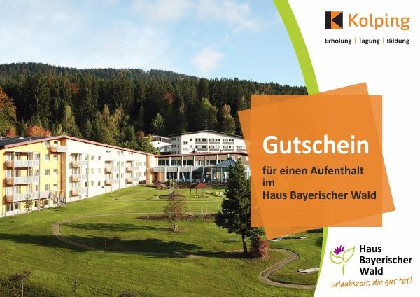Gutschein für einen Urlaub im Bayerischen Wald