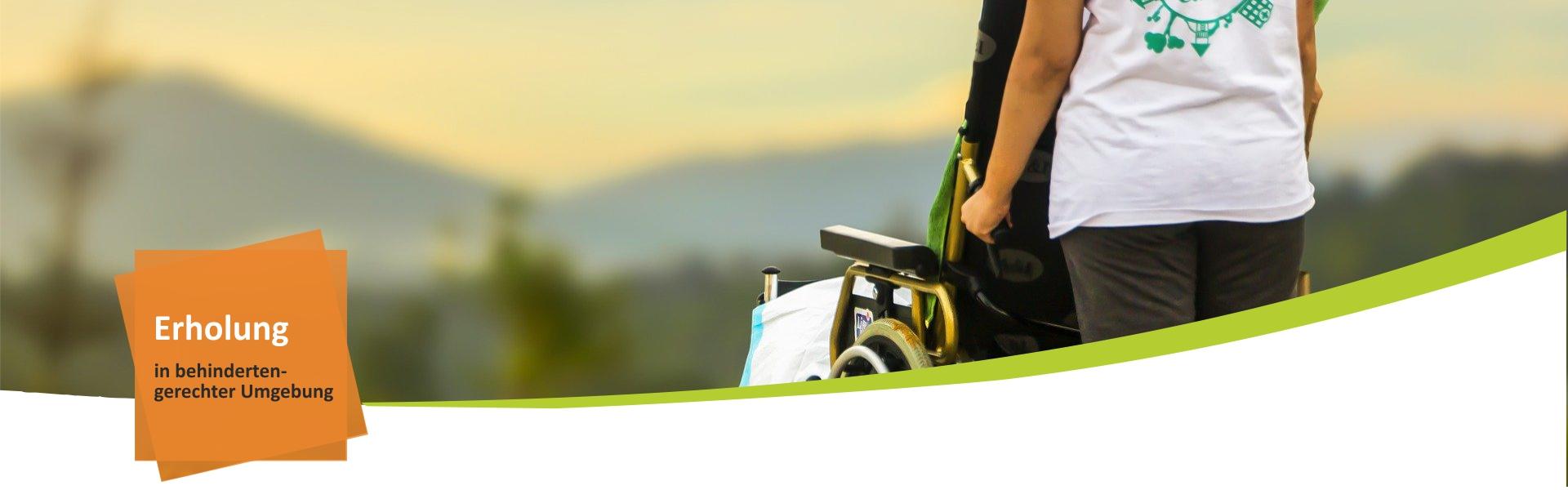 Handicap Gruppen Urlaub um Bayerischen Wald