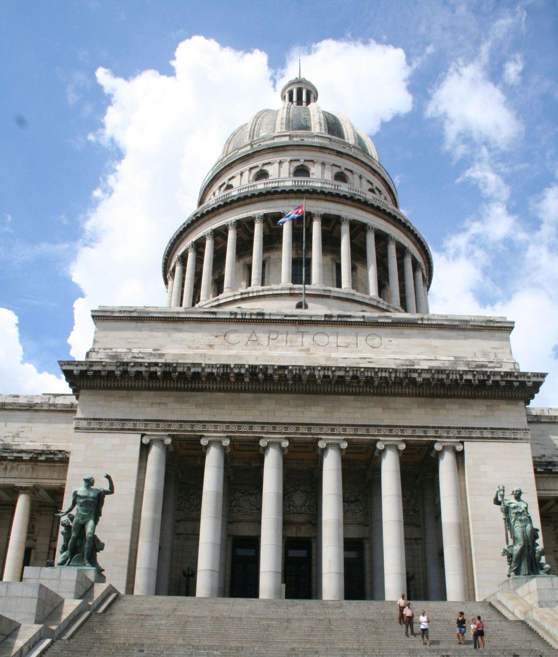 Eingang zum Kapitol