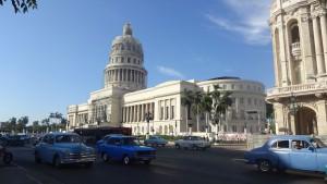 Das Kapitol während der Restaurierung