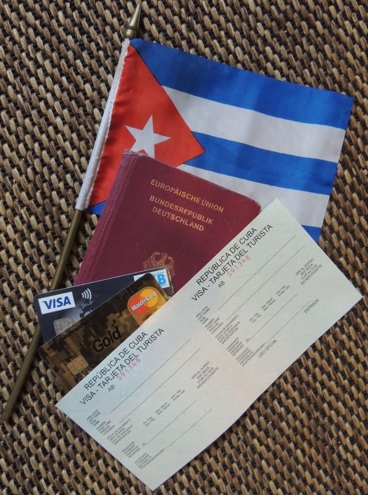 Reisedokumente Kuba