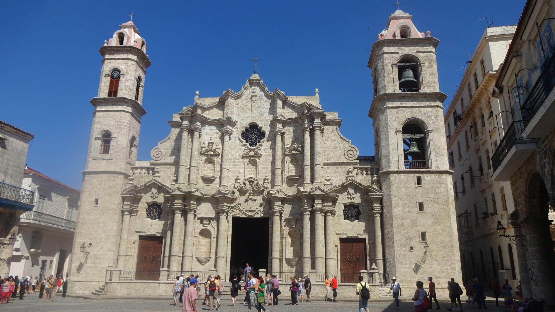 Die barocke Kathedrale von Havanna