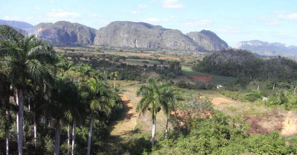 Das Naturparadies im Viñales Tal ist nicht vom Sturm betroffen.