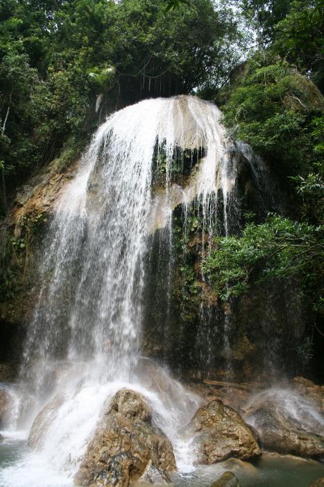 Der Wasserfall El Nicho ist ein Highlight einer Kuba Reise