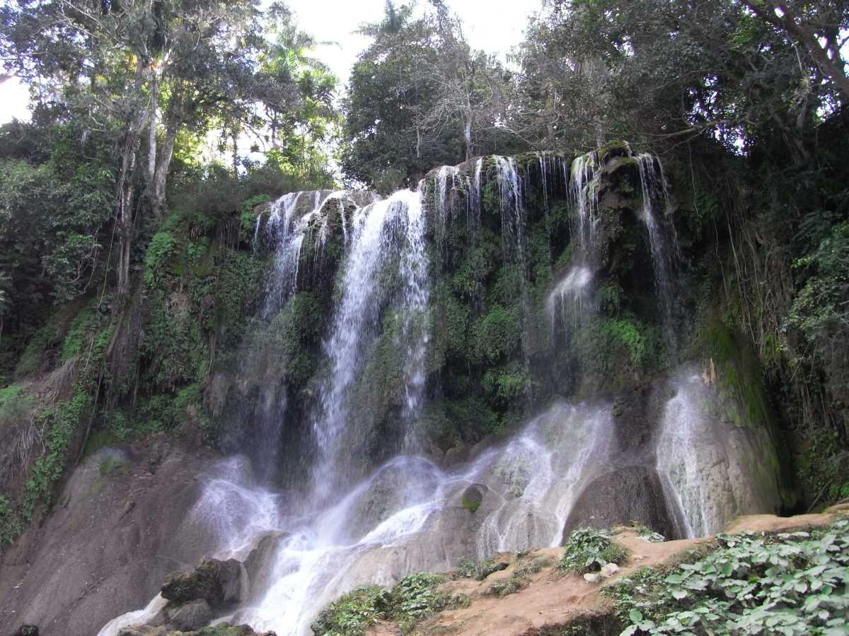 """Mein Favorit bei den Wasserfällen in Kuba ist der """"El Nicho"""" bei Cienfuegos"""