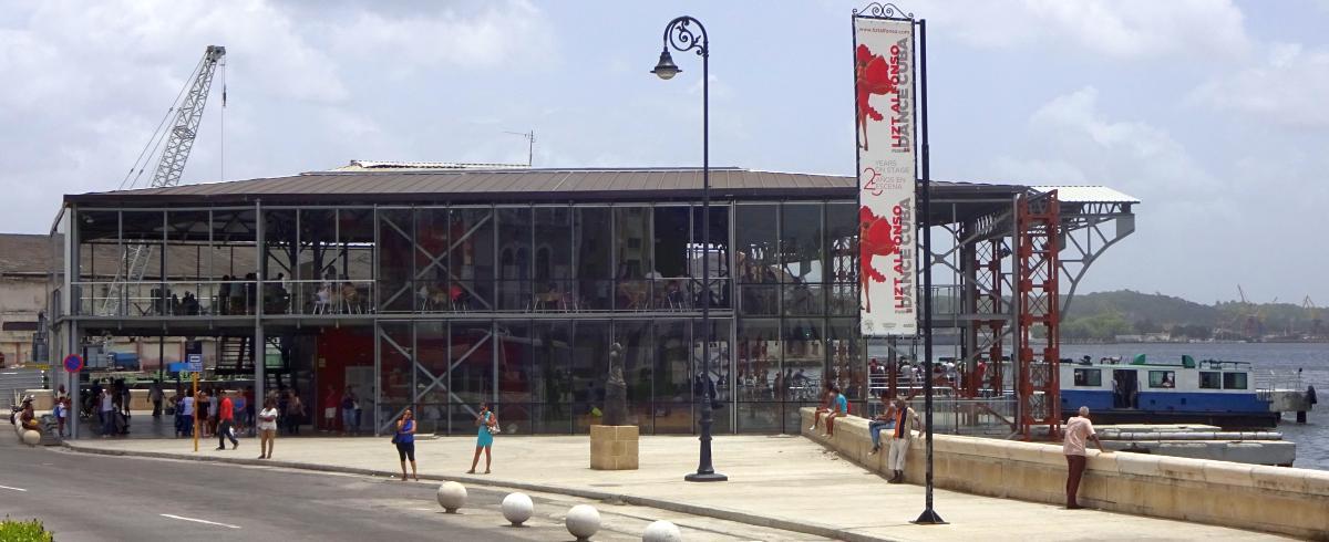 Neues Fährterminal in Havanna, Abfahrtsort der Fähren nach Casablanca und Regla