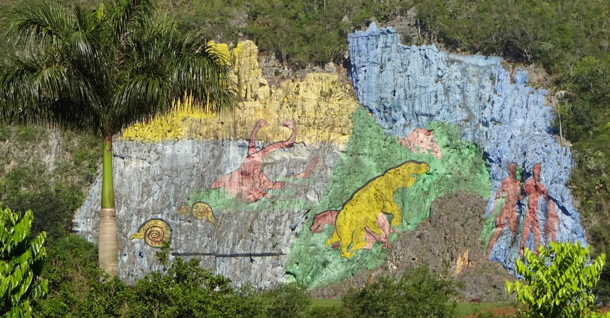 Kuba Reiseführer Mural de la Prehistoria