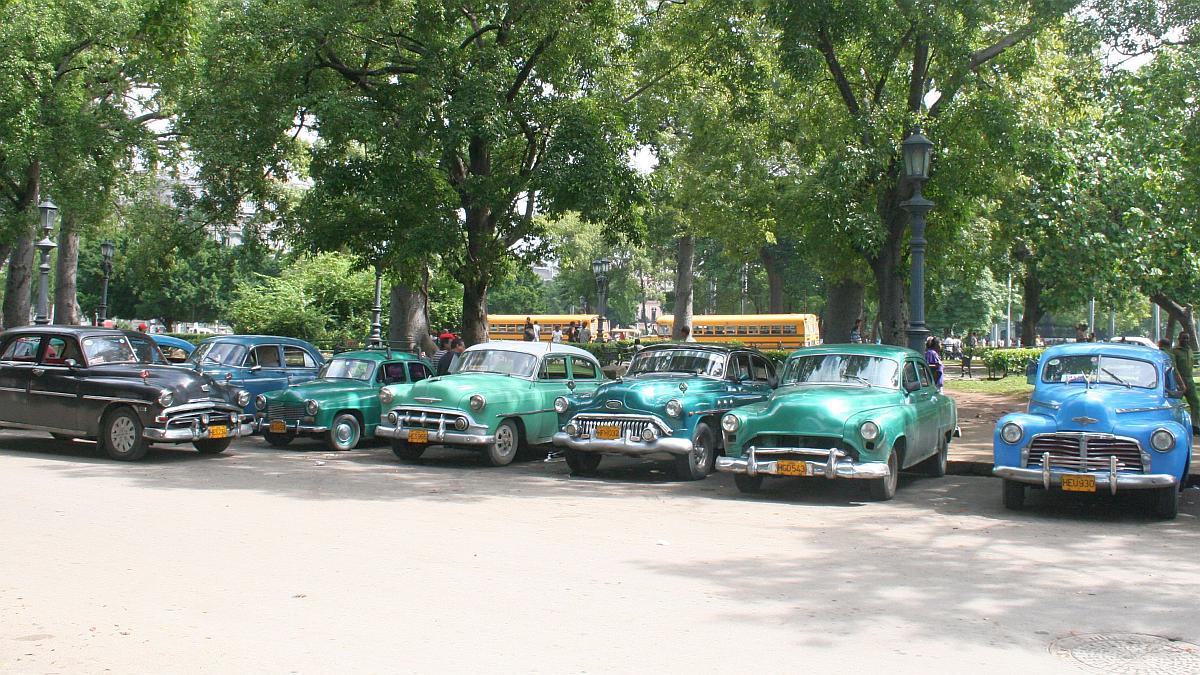 Maquinas in Havanna