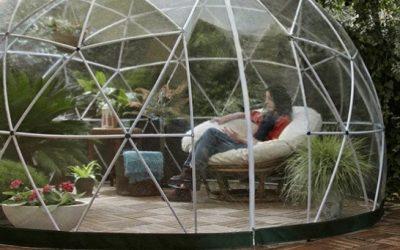 Smart kuppeldrivhus