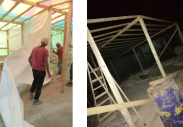 Bekaa Valley tent base