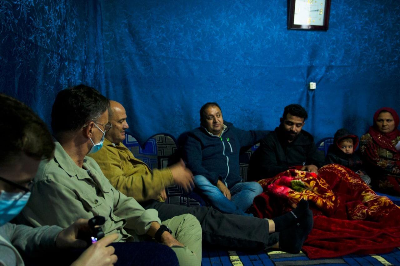 Tent Base Meeting