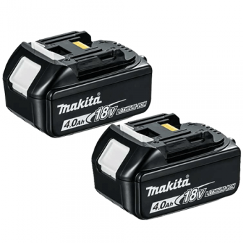 Makita BL1840X2 18v 4.0ah LXT Li-ion Makstar Battery Twin Pack