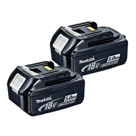 Makita BL1850X2 2 x 18v 5.0Ah LXT Origineel Batterij Twin Pack