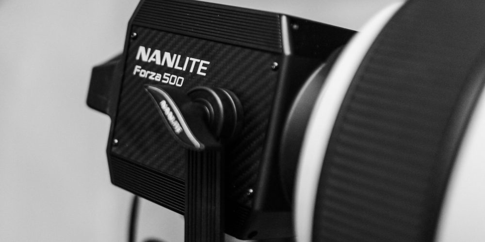 The Nanlite for another angle