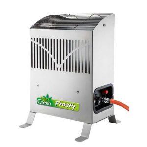 Gasvarmer Frosty 2,5 kW – med termostat