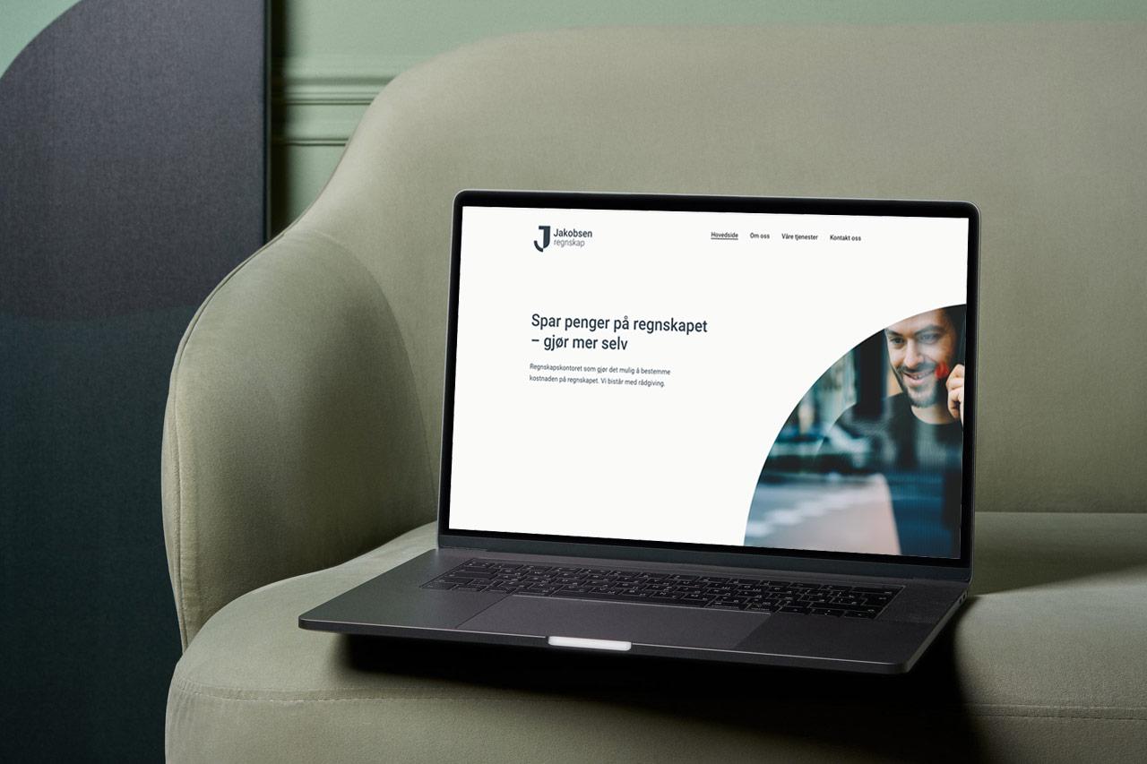 Nettside i WordPress