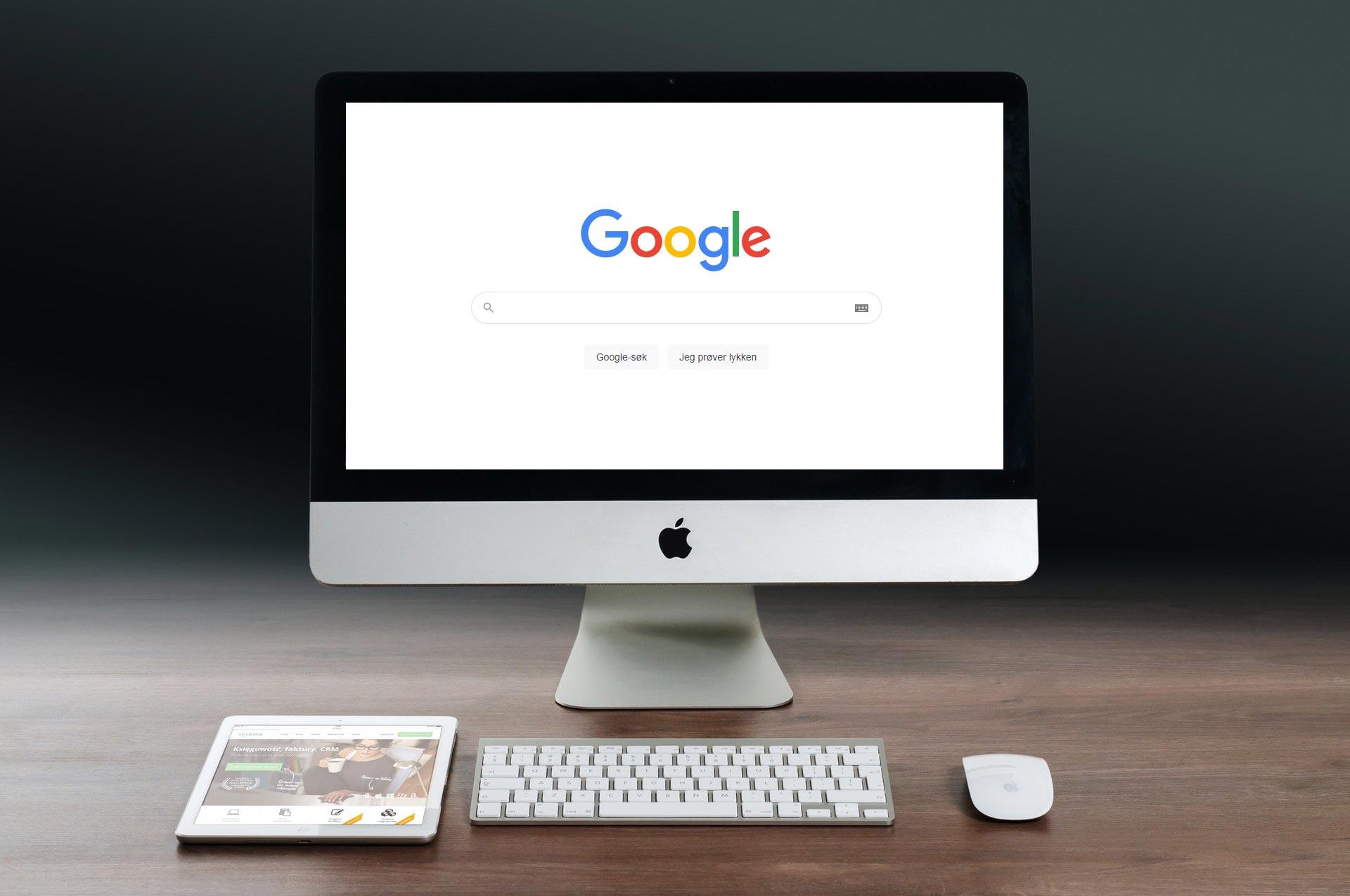 Synlighet på Google Søk