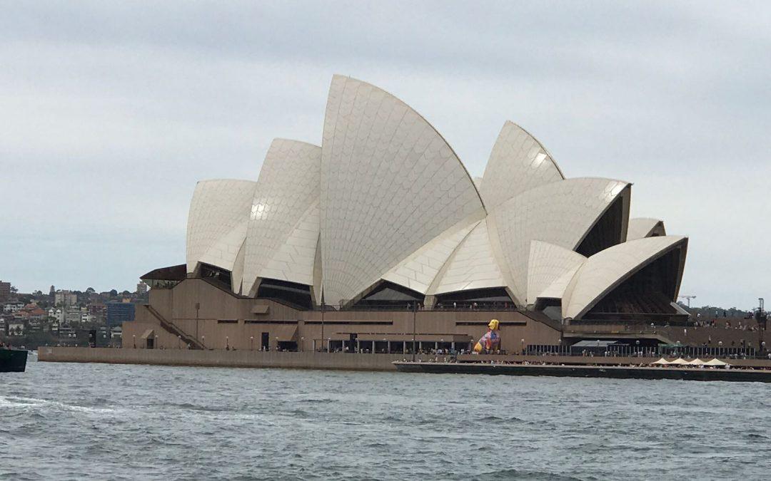 Australië, mijn eerste reis