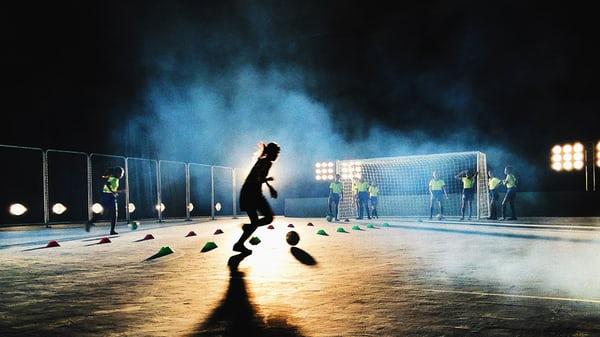 Fotbollsfredag och Hudiksvalls fritidsgård!