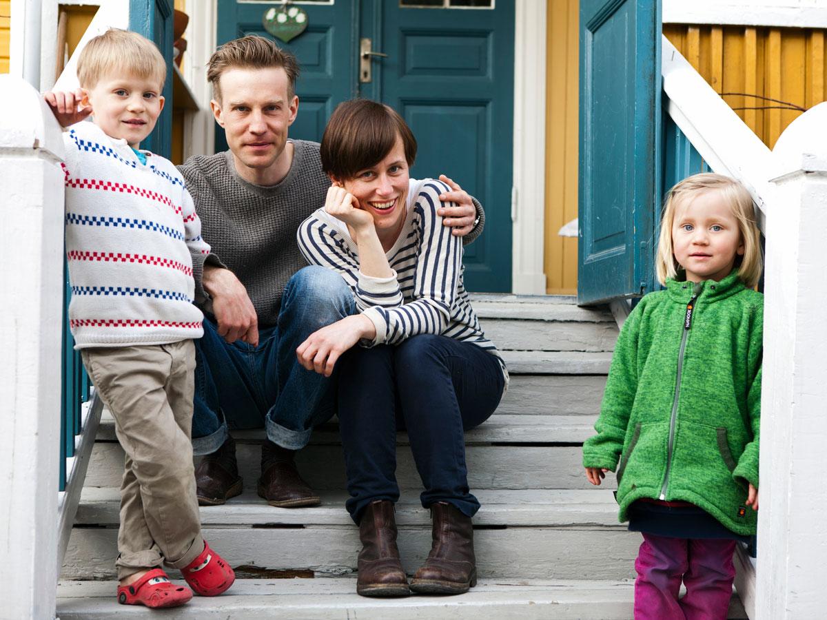 Flytten till Värmland gav dem ett lugnare familjeliv och en vardag utan pendling och stress. Foto Øyvind Lund/Region Värmland