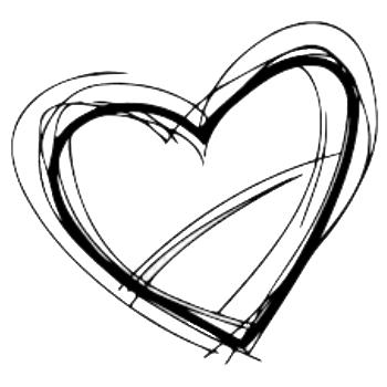 Sketchy heart
