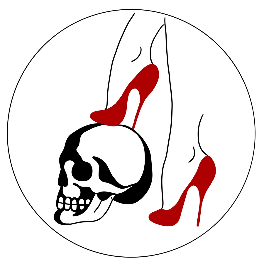 skull and feet