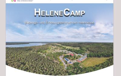 Neue Webseite – HeleneCamp im neuen Design