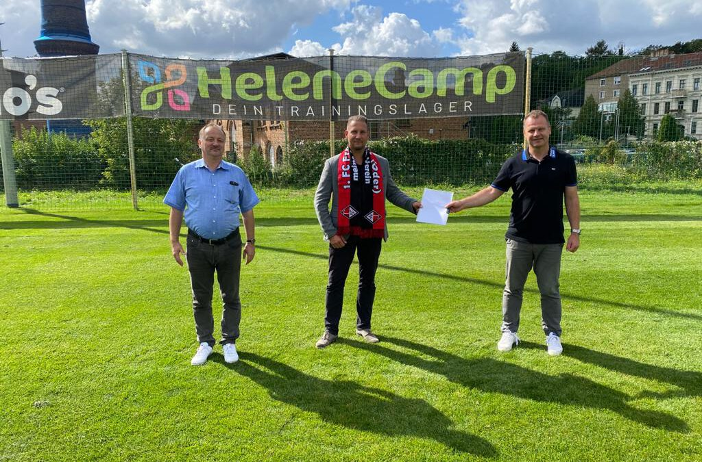 Trainingslager in Brandenburg – starke Kooperation mit dem 1. FC Frankfurt