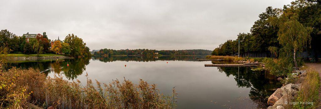 Lake Brunnsviken in Stockholm