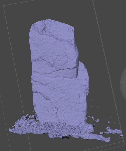 Model of Runic stone,