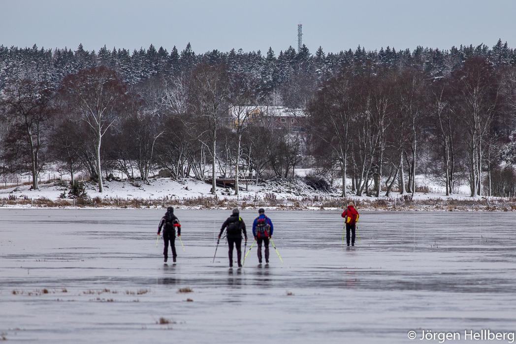 Ice skating,