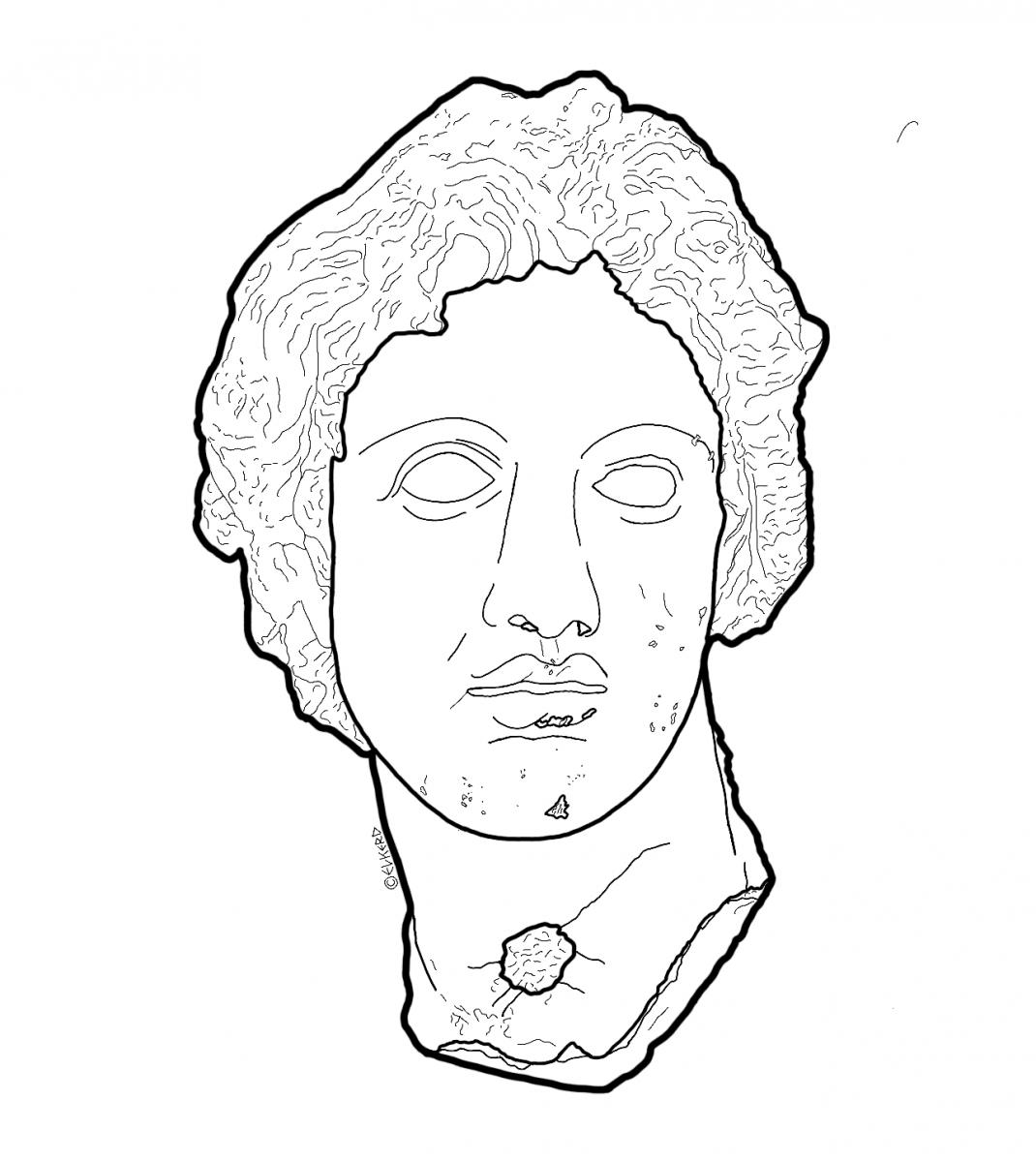 Head of Alexander the Great at the Glyptoteket