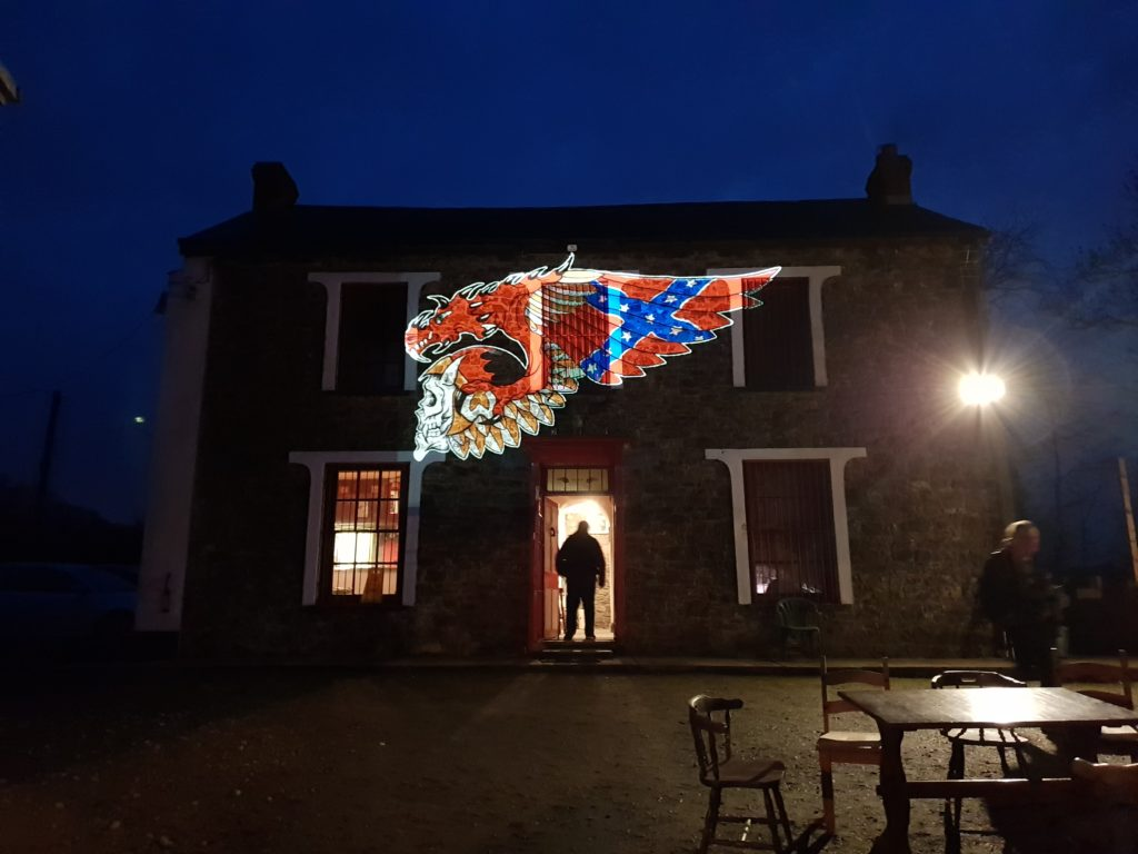 clubhouse projection