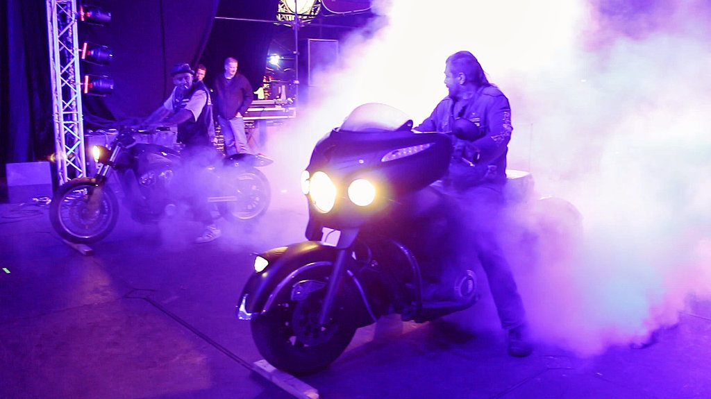 Burnout at Hells Angels Bulldog Bash
