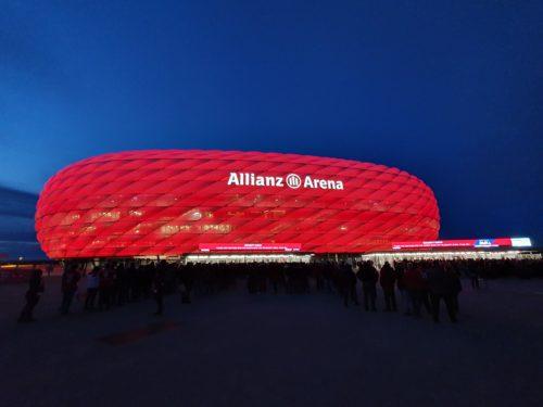 FCB Spielstätte Allianz Arena ab 2005