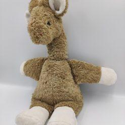 Giraffen Rosa bamse med musik