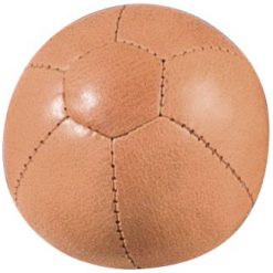 Stor læderbold