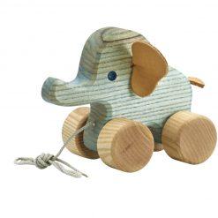 Blå elefant trækkedyr