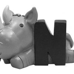 N med næsehorn