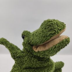 Krokodillen Alf hånddukke